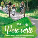 Voie verte Louviers-Parc des loisirs de Léry-Poses, à 8km du Gîte