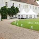 Abbaye de Bonport à 15 min