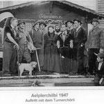 Turner-Cheerli an der Älplerchilbi 1947