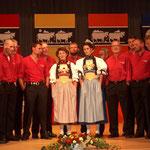 Gründungskonzert 2002 im Alten Schützenhaus Beckenried