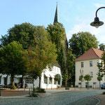 Blick auf die Kirche/OT Vilsen