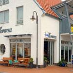 Im Café Kornau bekommen Sie ein leckeres Frühstück oder können gemütlich Kaffee trinken.