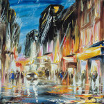 """""""Город"""" 2003, х.,м., 70х100."""