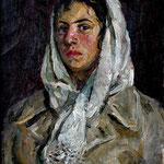 """""""Студентка Янина"""" 1965 г. Х.м. 47х35"""