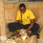 fair trade houtbewerker Ghana