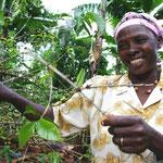 fair trade koffieboerin Tanzania