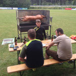 Unsere 3 Meister-Griller...