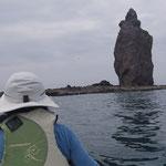 積丹半島 積丹岩