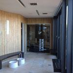 Mövenpick Hotel Münster | Beschriftungen im neuen Wellness und Sauna Bereich