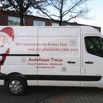Autohaus Treus | Rollende Weihnachtsgrüße