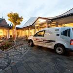 Radio Television Leufkes | Münster+Laer | Beschriftung eines VW Caddy