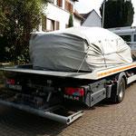 BMW I8 Transport nach München