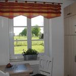 Küche - Blick auf die Pferdekoppel