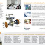 Der Innenteil: Mit CAD-Vorsprung, Kompetenzbereichen und Serviceleistungen
