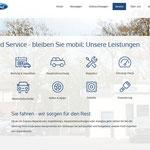 Übersicht Dienstleistungen