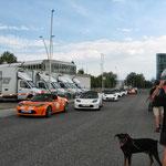 Line-up zur Fahrt nach Radstadt