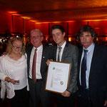 Vereinsmitglied Kevin Herold nach der Verleihung des Goldenen Reitabzeichens