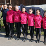 A-Gruppe Bad Ems 3 mit Longenführerin Ariane Dittmer und Pferd Brisante