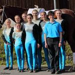 Bad Ems 1 mit Longenführerin Heide Pozepnia und Lucky Frederic