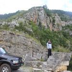 auf Passstrassen durch die Berge