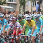 Start de Tour de France in Carcassonne