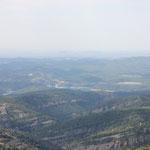 ein weiteres Mal eine schöne Aussicht in die Berge