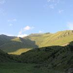 ... auf eine grüne Alp