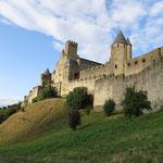 die Altstadt von Carcassonne