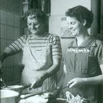 Mutter Maria und Tochter Lis Grünenfelder. Archiv E. Grünenfelder