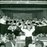Liedvortrag Männerchor Liederkranz. Leitung. A. Schelling: Archiv H. Hürlimann