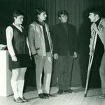 Jungmannschaft-Theater: William Thomson der Aussätzige. 1968. Archiv J. Oehler
