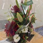 お花ありがとうございました♪