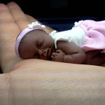 bomboniera battesimo neonato in fimo