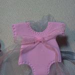 bomboniera decorazione sacchetto neonato fimo FIMOCHEPASSIONE