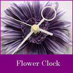 フラワークロック、花時計
