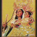 Virgen de la Alegría (Oleo sobre lienzo) 2010
