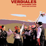 Cartel Fiesta Mayor de Verdiales2008