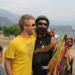 Master Masi and I after joyful soul funk flyin