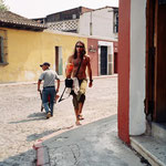 Tarzan of the jungle Tomy Schwarzer walkin at Antigua