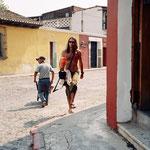 Tarzan of the jungle Tomy Schwarzer walkin at Antigua