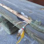 Indianerpfeife aus Speckstein