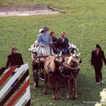 Die Ehrengäste zur KKJS 2002 fuhren in der Kutsche vor