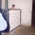 Ausbau des Stalles