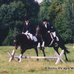 Springquadrille 2001 – Katha+Nepi und Anne+Gipsy
