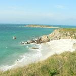 La plage de la pointe du Corsen