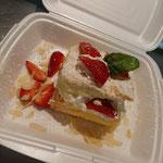 Erdbeer-Cremeschnitte - auch zum Mitnehmen