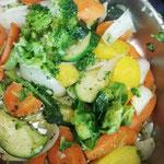 Gemüse immer frisch aus der Pfanne