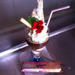 Eiskaffee - liebevoll dekoriert von OIiver