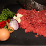 Beef tatare vom Alpenrind