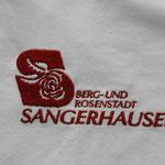 Bild: Shirt bestickung:Berg- und Rosenstadt Sangerhausen